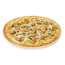 пицца куриная с грибами