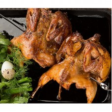 Цыплята корнишоны на мангале
