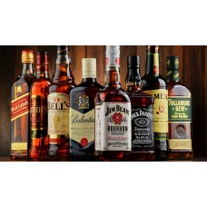 виски в ассортименте