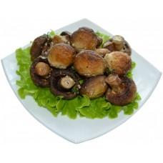 грибы на мангале