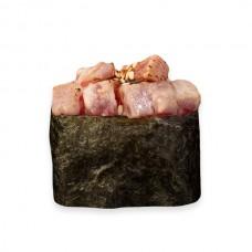 гункан запеченный с тунцом